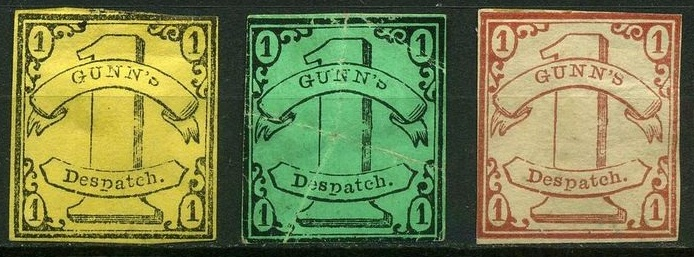 Clan Gunn stamps